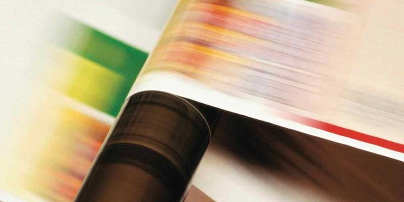 Web printing company work